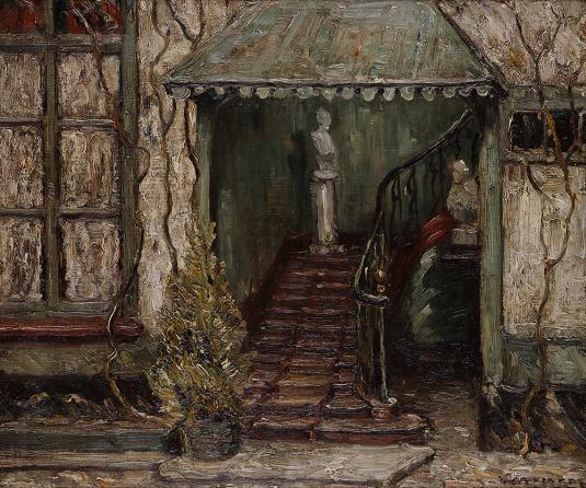"""Staircase"" or ""Stairway""  William A. Harper"